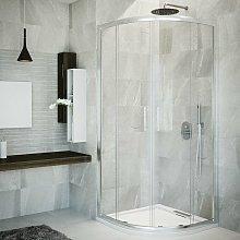 Box doccia semicircolare 90 cm in cristallo