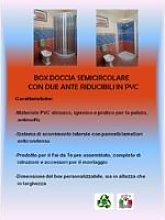 Box Doccia Semicircolare 90X90 Apertura Laterale