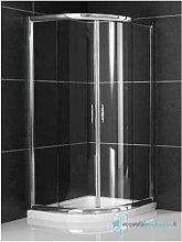 Box doccia semicircolare 90x90 cm scorrevole