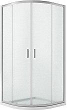 Box doccia semicircolare vetro stampato h 185 mod.