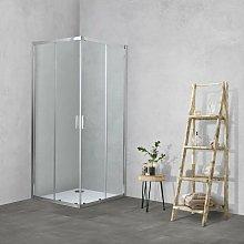 Box doccia TOKYO doppia porta scorrevole quadrato