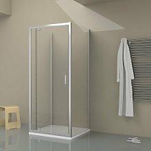 Box doccia TOKYO porta battente quadrato 3 lati