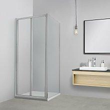 Box doccia TOKYO porta pieghevole quadrata 70x70
