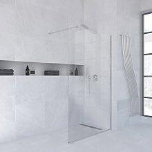 Box doccia walk in 100 cm in cristallo temperato