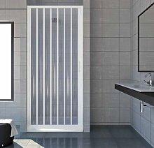 Box porta doccia un lato a soffietto laterale,