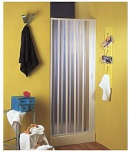 Box porta doccia un lato a soffietto laterale in