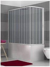 Box Vasca in PVC a due lati, dim. 70*150 cm x H