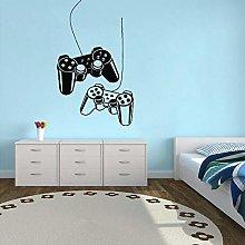 Boy room joystick decalcomania della parete vinile