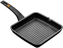 BRA Efficient - Bistecchiera Grill Antiaderente,