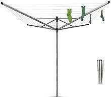 Brabantia Lift-O-MATIC Stendino, Metallo, Grigio