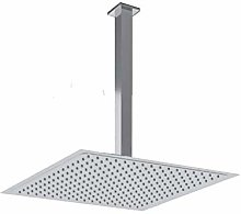 Braccio doccia + Soffione Acciaio Inox Slim 2 mm