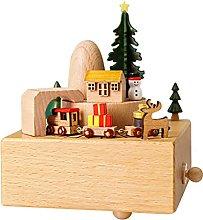 BRAGO Carillon in legno, decorazione natalizia con