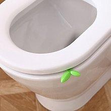 Breve: 1 Pezzo Lungo Foglie Verdi Coperchio Del WC
