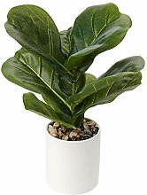 Breve piante artificiali da 31 cm, decorazione per