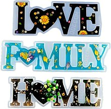 Briday - Love Home Family - Stampi in resina - Fai