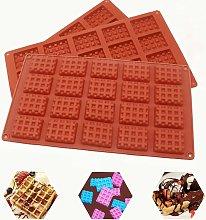 Briday - Set di 3 stampi per biscotti in silicone