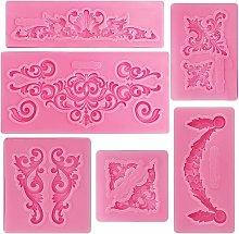 Briday - Stampo in silicone per fiori di vite,