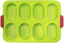 Briday - Stampo per baguette in silicone, teglia