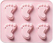 Brookton Stampo in silicone a forma di piede,