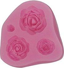 Brookton Stampo in silicone a forma di rosa, per