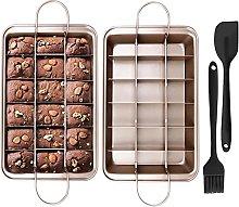 Brownie Teglia,Brownie Pan Teglia,Stampo Brownie