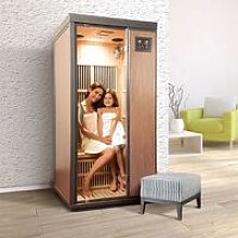 Bsvillage - Sauna a raggi infrarossi CORINNA da 1