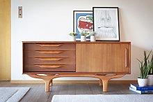 Buffet scandinavo in legno Alrik
