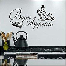 Buon Appetito Adesivo Murale Adesivi Murali Cucina