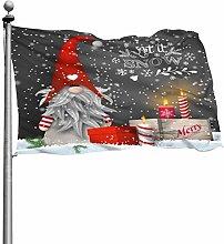 Buon Natale Gnomo Regali di Natale Bandiera
