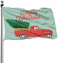 Buon Natale Inverno Vintage Red Truck Holidays
