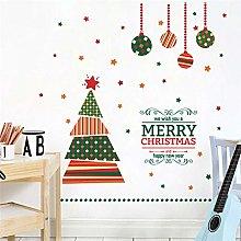 buon natale palla albero adesivi murali per
