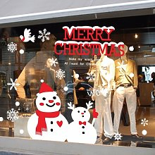 Buon Natale Wall Art rimovibile Home Window Wall