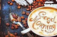Buongiorno Caffè Puzzle In Legno Per Adulti 1000
