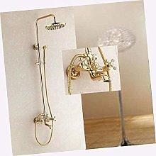 Busirsiz - Rubinetto doccia con doccetta in ottone