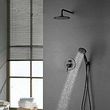 Busirsiz - Set doccia da parete a scomparsa,