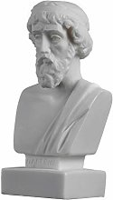 Busto di Platone greco padre di filosofia statua