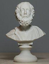 Busto greco di 1 ° epico poeta autore Homer Art