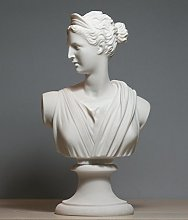 Busto greco di Artemis Diana Dea Art Statua in