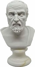 Busto statua Filosofo Ippocrate - Riproduzione