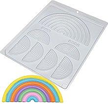 BWB 9385 - Stampo per bambini arcobaleno per