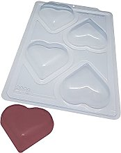 BWB SP 45 Stampo Semiprofessionale 3 parti cuore
