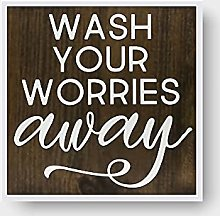 by Unbranded wash your worries away – cartello