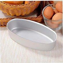 BYFRI Cucina Forma Ovale in Alluminio Torta di