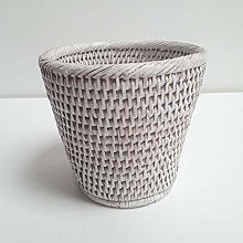 BYRMAY 46194 - Vaso per Orchidee, Colore: Bianco,