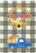 BYRON HOYLE - Bandiera decorativa da giardino con