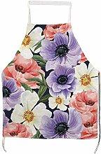 BYRON HOYLE - Grembiule da cucina con fiori di