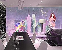 BZZB adesivo murale 3dImitazione vista notturna
