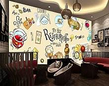 BZZB adesivo murale 3dRistorante gourmet