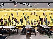 BZZB adesivo murale 3dRistorante Thai Elephant bar