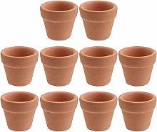 Cabilock 10 Pezzi Mini Vaso in Terracotta Vasi da